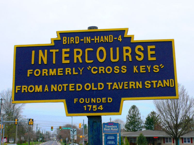 Intercourse sign