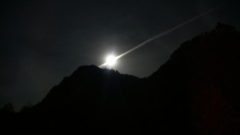 Full moon alpensee hhenschwanau