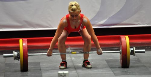 World Weightlifting Championships--Sofia day 3 422