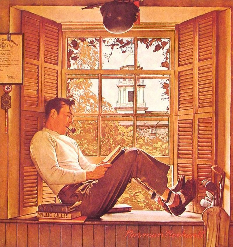Norman-rockwell-willie-gillis-in-college